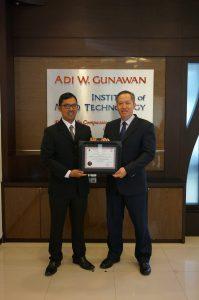 ..with mr Adi W Gunawan